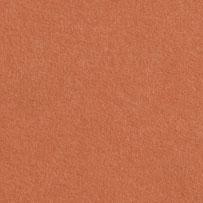 Tvrdší papír s jemnou strukturou terakotové barvy